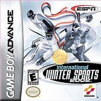 ESPN International Winter Sports 2002 (Nintendo GBA, 2002)Working Game Only