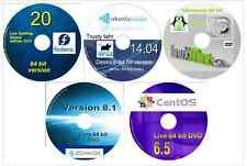 Zorin 12 CentOS 7.0 Fedora 27 Mint 19.1 Ubuntu Studio 18.04 64 bit 6 Linux DVDs