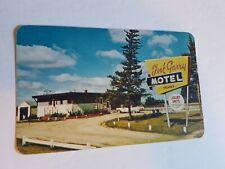 Fort Garry Motel Winnipeg Manitoba Postcard Vintage Advertising