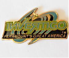Amusement Park Pin Paramount's Great America Invertigo Roller Coaster 1998-2006