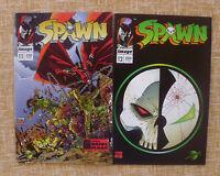 Spawn, nº 11 y 12, 1995, Image, World Comics, Planeta DeAgostini, Fran Miller