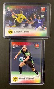 ERLING HAALAND   Dortmund   2020/21 Topps NOW Bundesliga, 2 cards: #134 & #172