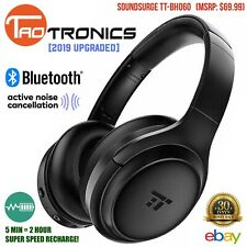 TaoTronics Headphones 2019 Upgraded Bluetooth Active Noise Cancelling TT-BH060