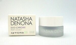 Natasha Denona Duo Chrome Top Coat ~ Lavender / Gold / Silver ~ 0.2 oz / BN