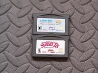 Lot Nintendo Game Boy Advance GBA Games Mary Kate and Ashley - 2 titles