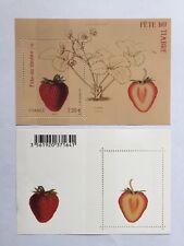 Feuillet F4535 neuf** Fraisier Rubis, Fête du timbre 2011. Timbres parfumés.