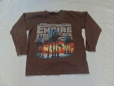Star Wars The Empire Strikes Back L/S T-shirt Size X-Small Lucas At-At Walker