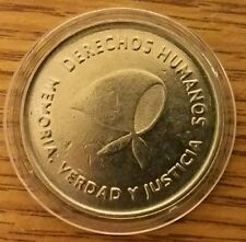 Argentina $2 2006 Comm Human Rights Madres de Mayo Coins in Prot Caps