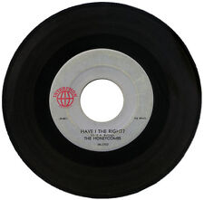 "HONEYCOMBS  ""HAVE I THE RIGHT? c/w PLEASE DON'T PRETEND AGAIN""    60's   LISTEN!"