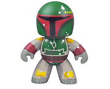 STAR WARS Mighty Muggs BOBA FETT boxed designer vinyl toy action figure RARE