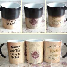 Magic Marauders Map Color Change I am Up To No Good Mug Cup Gift 300-400ml