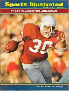 Sports Illustrated 1970 STEVE Woo Woo WORSTER Texas Longhorns CHAMPIONS No Label