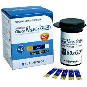 50 x GlucoNavii Blood Glucose Test Strips - Diabetics VAT Free