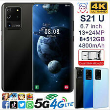 S21U 6.7 inch 8g+256g 5G Dual SIM Card Octa Core Android 10 Smart Mobile Phone