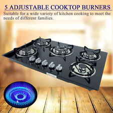 """30"""" Inch 5 Burners Built-In Stove Top Gas Cooktop Kitchen Ng/Lpg Gas Cooking"""