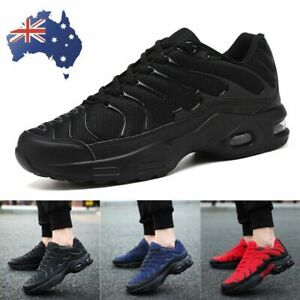Fashion Men's Air Cushion Sneakers Breathable Running Shoes Casual Walking Shoes