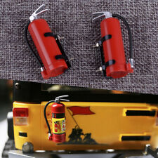 2 pcs modelo extintor incendios para RC 1/10 AXIAL SCX10 TRX4 D90 CC01RC Crawler