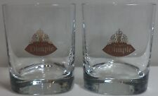 VHTF DIMPLE SCOTCH WHISKY SET OF TWO GLASSES