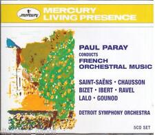 Paul Paray Conducts French Orchestral Music - CD Mercury Living Presence