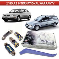 VW Passat B5 LED Interior Kit Premium 13 White SMD Bulbs Error Free B5.5 3B2 3B5
