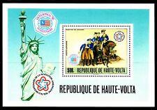 Upper Volta / Burkina Faso - 1976 Bicentenary USA - Mi. Bl. 44 MNH