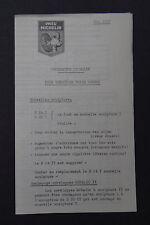 Nouveauté MICHELIN mai 1957 mano Patin Pavot bibendum tyre catalog Katalog