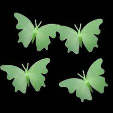 4pcs Fluorescent Butterfly Wall Stickers Dark In Art Decal Glow Kid Home Last1
