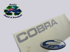COBRA DECAL TAILGATE FORD BF MODELS BRAND NEW  * N O S * (1) GENUINE