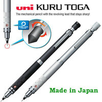 Uni Kuru toga Mechanical pencil 0.5mm roulette: Gun Metallic or Silver  barrel