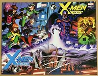 X-MEN Gold #1 & Blue #1 McKONE Connecting Cover VARIANT SET * GEMINI SHIPPING