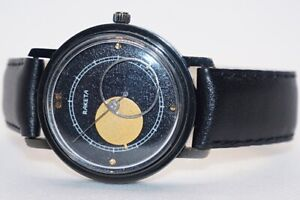 "USSR Rare Mechanical Watch Raketa ""Copernic"" ""Lunar Eclipse"" Cal.2609.NP"