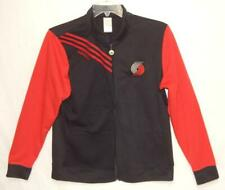 ADIDAS ORIGINALS Portland Trailblazers NBA Red Black Bomber Jacket Womens Medium