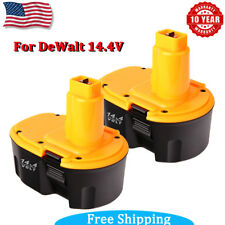 Extended For Dewalt 14.4V DC9091 NiCd Cordless Drill Battery 2Pack DW9094 DW9091