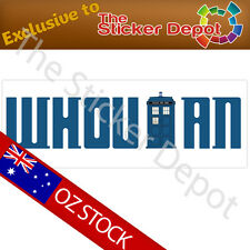Doctor Who Whovian Bumper Sticker