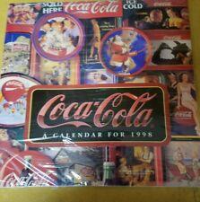 1998 COCA COLA CALENDAR NEW IN PACKAGE WARPER