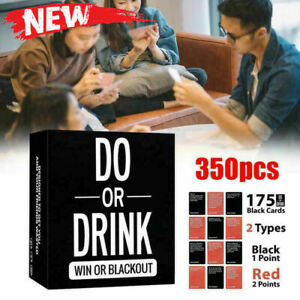 Do Or Drink Card Game Party Fun Board Game Fun & Dirty Party Dare or Shots