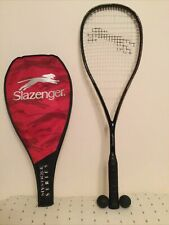 New listing Slazenger Mystique Series Carbo Squash Raquet With Two Balls And Cover