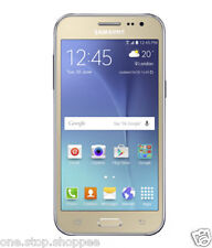 "New Launched Samsung Galaxy J2 Unlocked Dual Sim 4.7"" 1.3Ghz Quad Core 4G-GOLD"