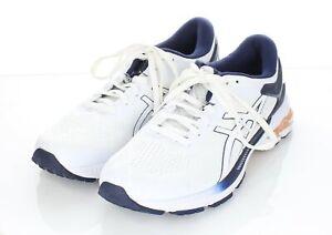 06-14 NEW $160 Women's Sz 9.5 M Asics Gel-Kayano 26 Running Shoe - White/Peacoat
