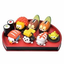 Disney Store Japan Sushi Figure Set Mickey Friends Chip dale Alien Tsum Tsum NEW