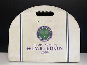 The WIMBLEDON 2004 seat cushion