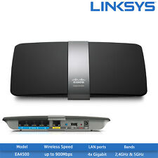 Refurbished Linksys EA4500 N900 Dual-Band Smart Wi-Fi Wireless Router
