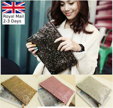 Glitter Sparkling Evening Ladies Handbag Wedding Party Clutch Bag Women Purse