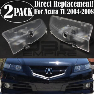 Gen 2 RED LED Door Logo Ghost Shadow Projector Lights For Acura TL 04-08 UA6 UA7