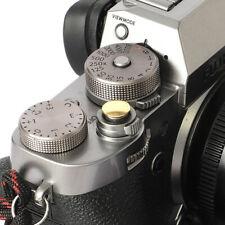Selens Shutter Button Soft Release Metal Convex Copper Fuji XT3 X-Pro1 X-Pro3