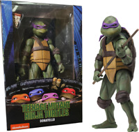 "NECA TMNT Teenage Mutant Ninja Turtles Donatello 7"" Action Figure 1990 Movie Toy"