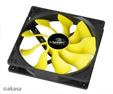 Akasa AK-FN063 Viper S-FLOW 140mm Case Fan Delivering 30% Higher Airflow