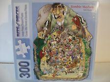 Zombie Mayhem Puzzel 300 pc, new, Len Epstein, Family Fun, Games, Jigsaw,