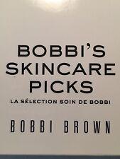 Bobbi Brown Bobbi's Skincare Picks Oil, Balm,Mask New Sample Set.