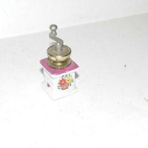 Nostalgie-Kaffeemühle mit Geräusch-Küche-Puppenhaus-Puppenstube
